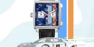 TAG Heuer Monaco Gulf Special Edition 50th Anniversary Limited Edition of 50 Pieces