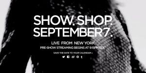 Tom Ford Livestream From New York
