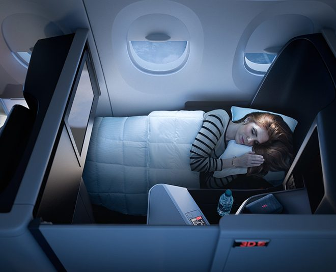 Delta Air All-suites business class