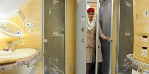 Emirates to offer hot showers mid-air