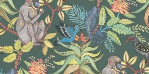 Luxury wallpaper collections: Cole & Son unveils its vibrant Ardmore Collection inspired by Africa