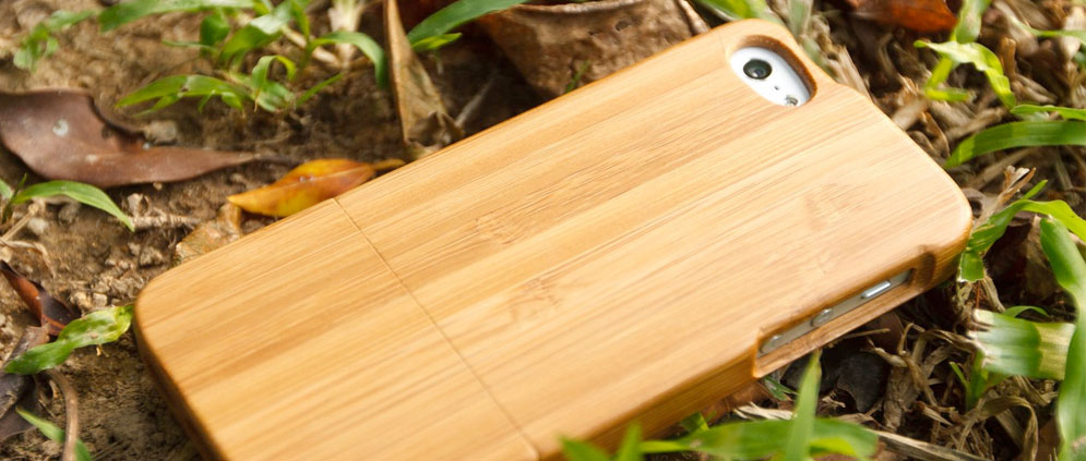 Bamboo iPhone 5 iPhone 5s Wood Cases