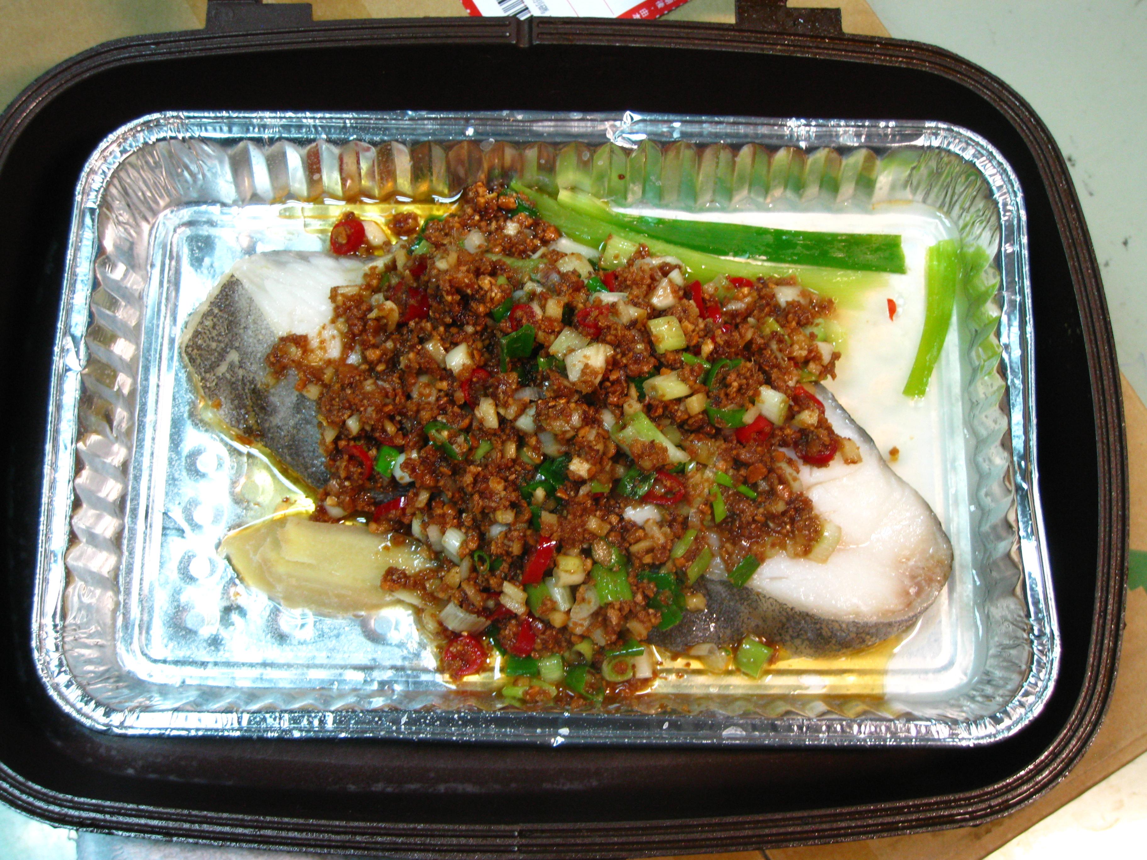 軟嫩的鱈魚