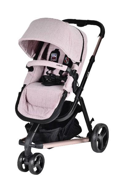 豪華型手推車:unilove/Touring多功能嬰兒推車(限量玫瑰金)