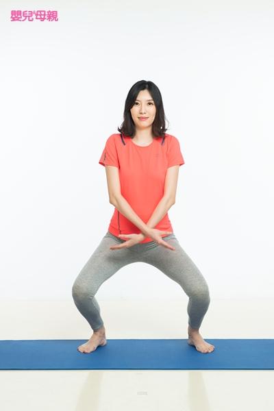 好孕體操 1.向日葵式 Step3