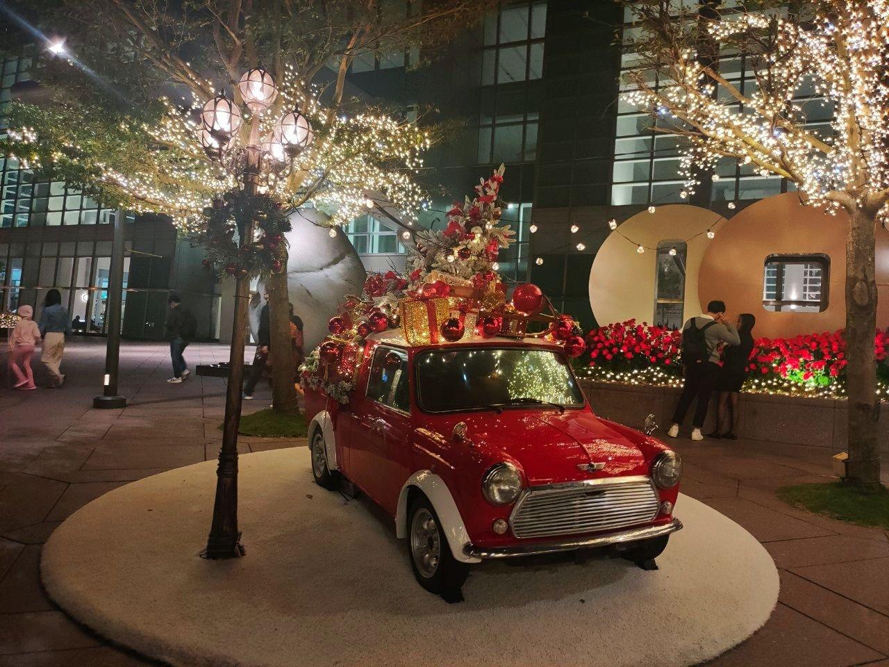 聖誕節景點