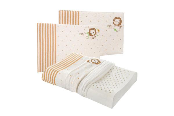 防蟎寢具:小獅王辛巴有機棉乳膠舒眠枕