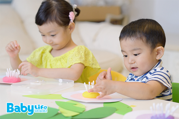 學齡前幼兒「掌內分解」動作練習