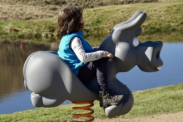 彈簧搖馬35公斤以上學童不適合