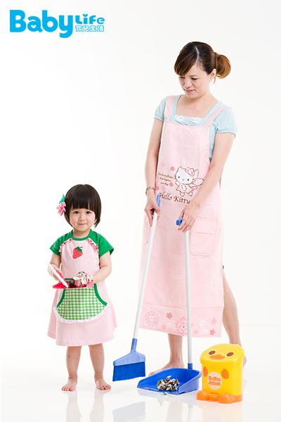 4、5歲讓孩子開始做家事,很容易養成習慣