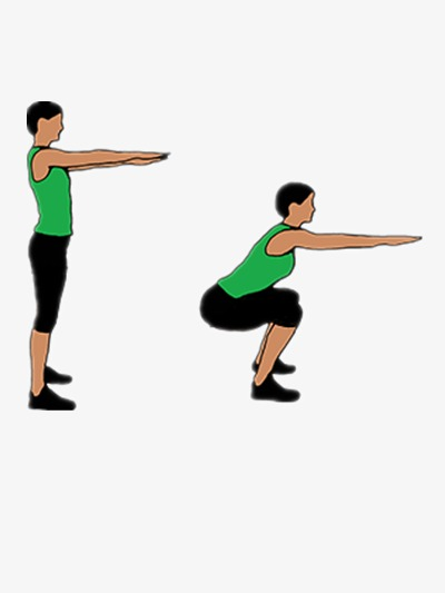 深蹲可以強化腿部肌肉群,分泌生長激素