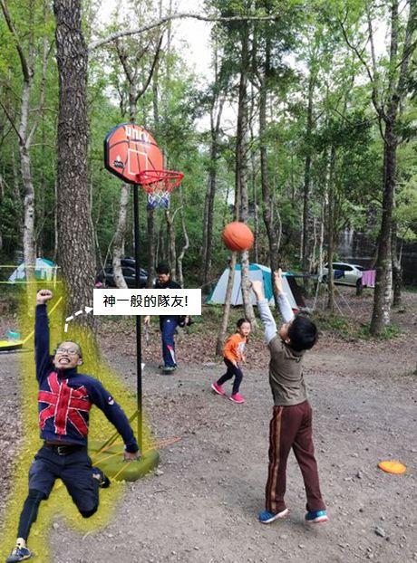 10大親子露營遊戲:打籃球