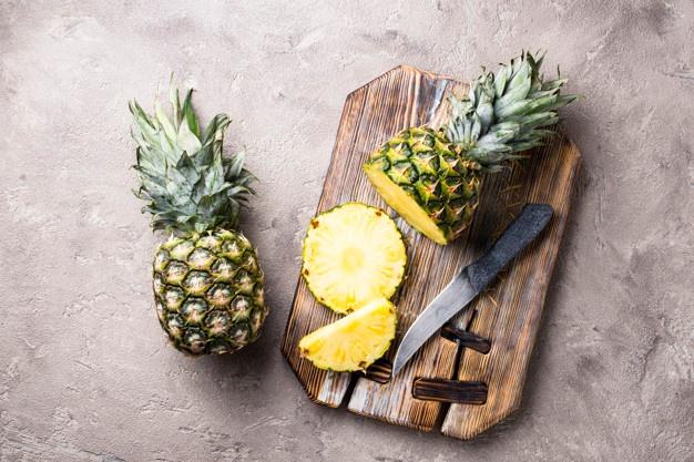 鳳梨含豐富蛋白酵素