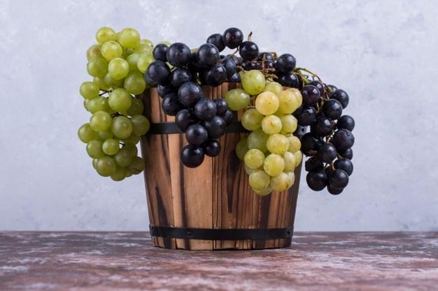 葡萄的鐵質主要存在葡萄皮