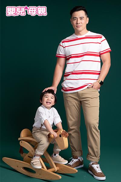 大福出生開始,竇智孔便訓練寶寶不哭才能抱
