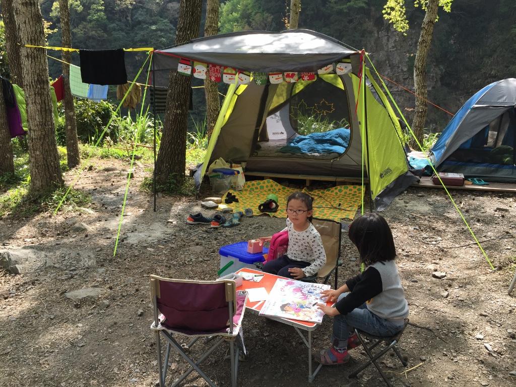10大親子露營遊戲:寫生