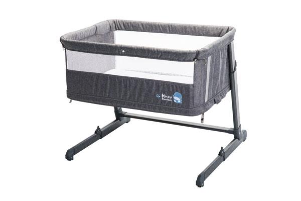 嬰兒床:KU6040北歐成長型床邊床
