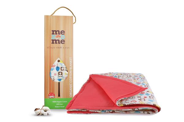 防蟎寢具:mezoome有機棉四季被