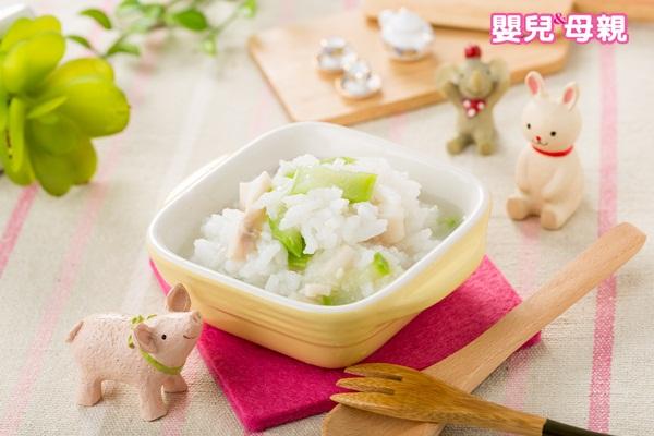 寶寶副食品,絲瓜魚片粥成品圖