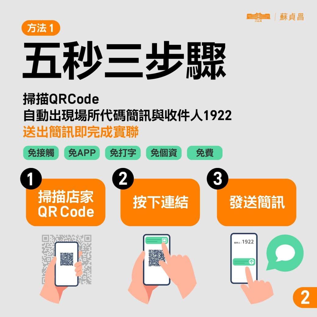 使用手機相機掃描QRCode