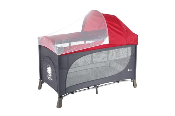 嬰兒床:雙層遊戲床