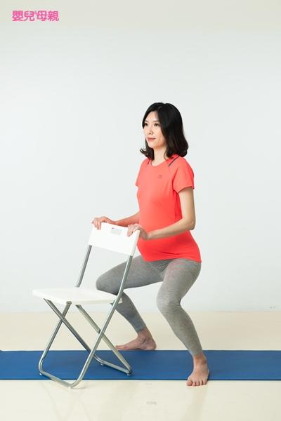 好孕體操 1.蹲踞運動 Step2
