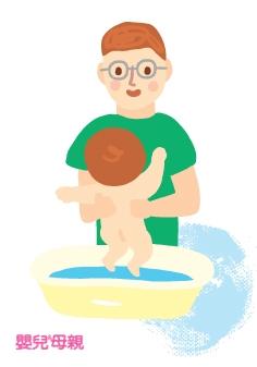 和所和有的新手爸爸一樣,阿包醫師對育兒剛開始時還真有點不知所措