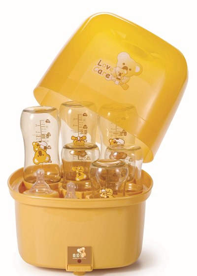 蒸氣&烘乾消毒鍋推薦 - 喜多蒸汽式奶瓶消毒鍋