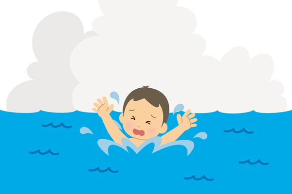 兒童溺水時,謹記5步驟