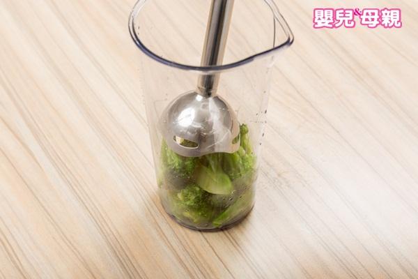 嬰兒副食品,花椰菜泥製作步驟圖