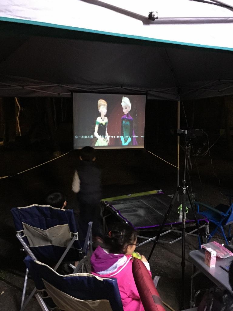 10大親子露營遊戲:蚊子電影院
