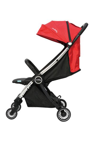 豪華型手推車:vivibaby-Light move自動快速摺疊登機嬰兒推車