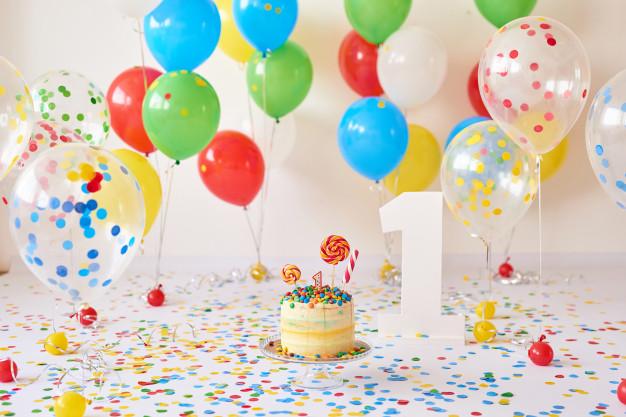 慶生派對最適合用氣球跟彩帶布置