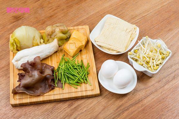 桂花什香菜食材
