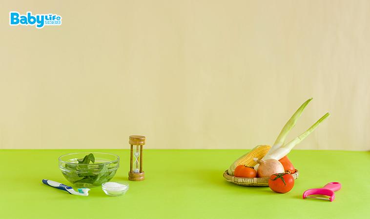 除了選購安心來源的蔬果,還要認真清洗蔬果