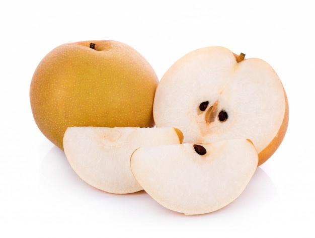 梨子膳食纖維豐富,可刺激腸子蠕動