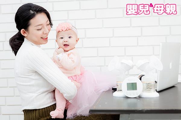 沒空擠奶的媽咪,可少量多次擠奶,並利用手擠奶技巧救急。