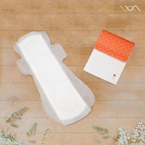 月經量多的人適合乾爽網面型衛生棉