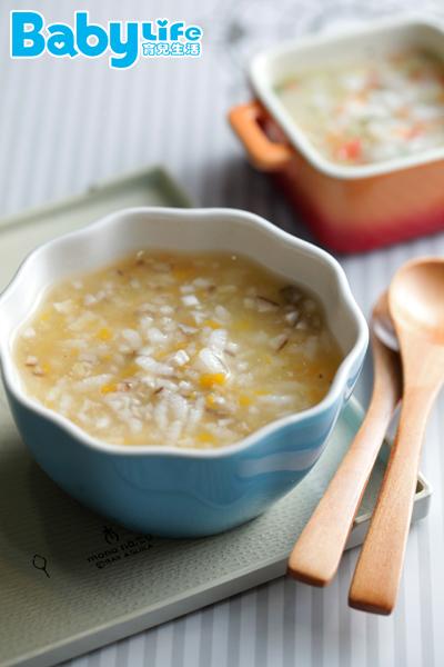 「南瓜雞肉寶寶粥」適用8個月以上的寶寶副食品