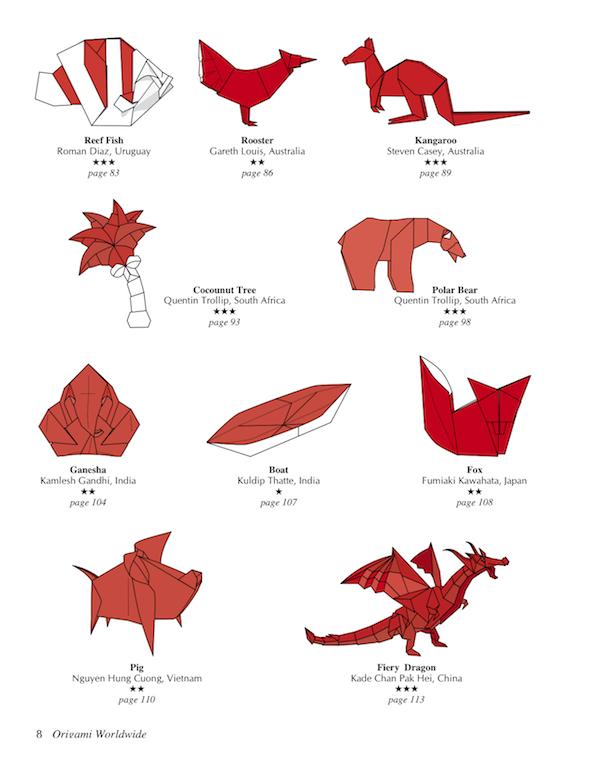 網站上面的摺紙作品都算是入門的,很好上手適合孩子學習。