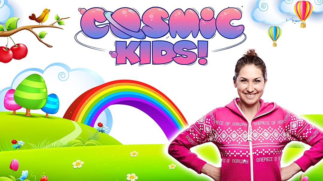 COSMIC KIDS YOGA,來自英國,非常適合剛接觸瑜珈的孩童入門。
