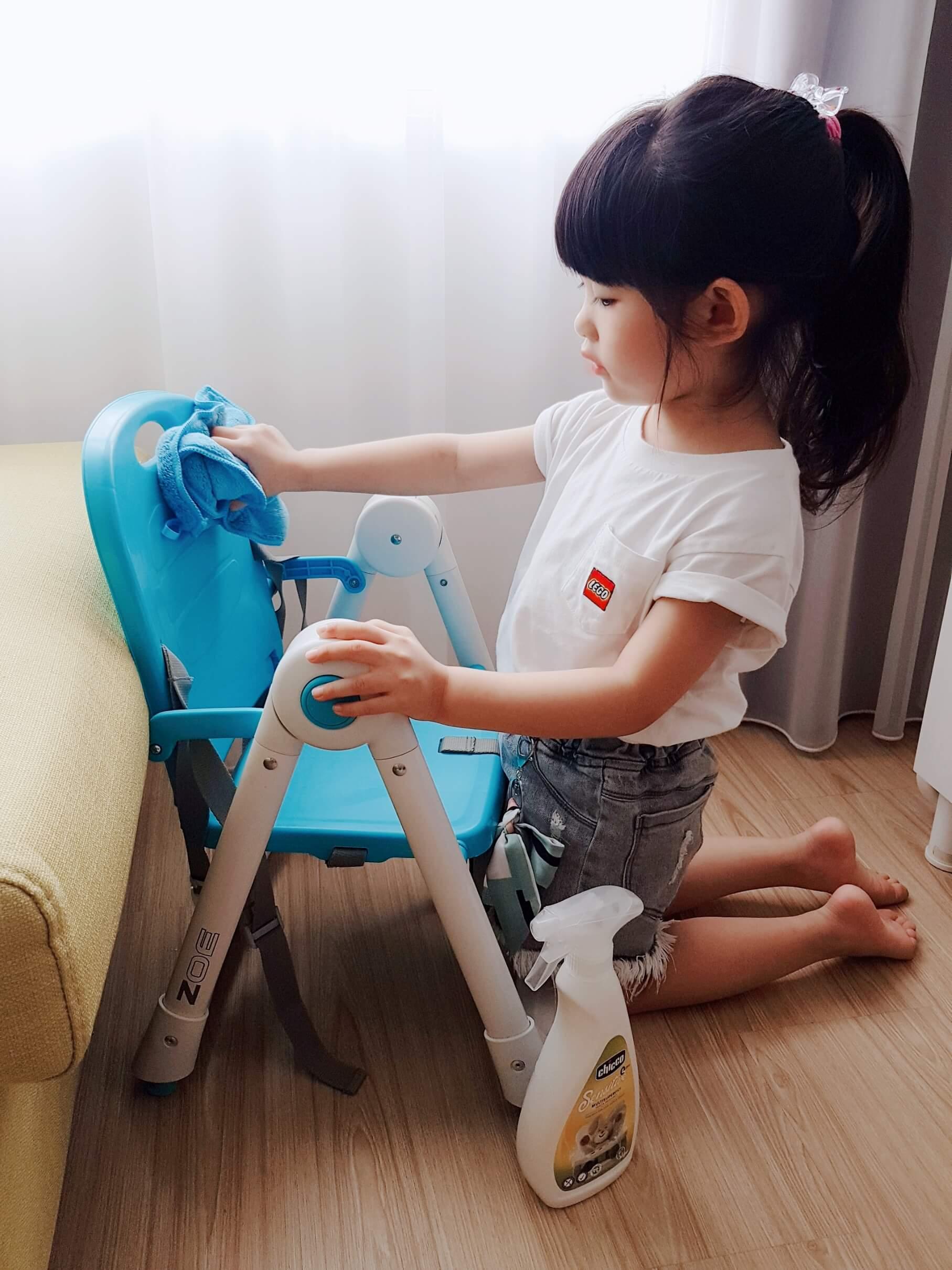 Chicco 超濃縮嬰兒洗衣精 多功能抗菌清潔噴霧