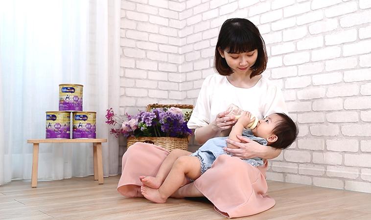 水解蛋白配方+DHA,寶寶順暢、學習力領先的第一步