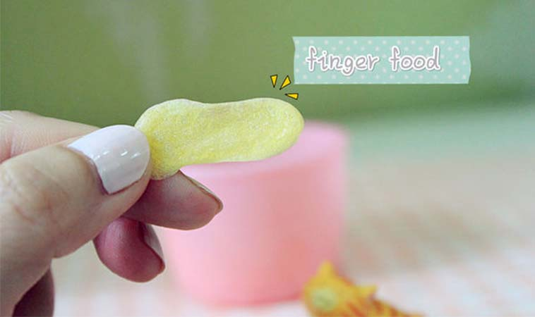 自製嬰兒小米餅,簡單又好吃