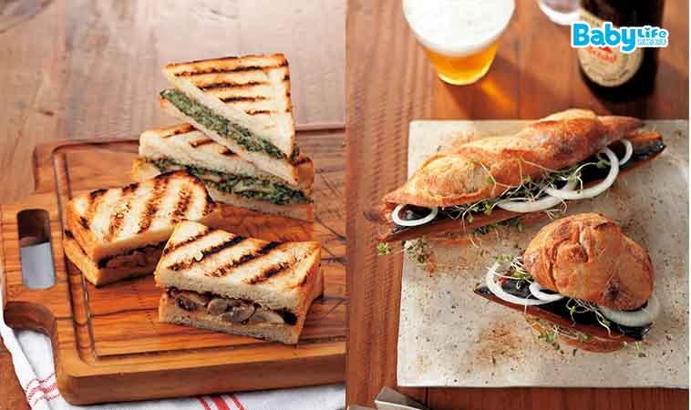 快速、簡單、低卡,超人氣三明治,5分鐘就上桌!