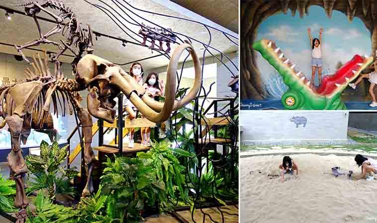小小恐龍迷必訪,台南化石博物館