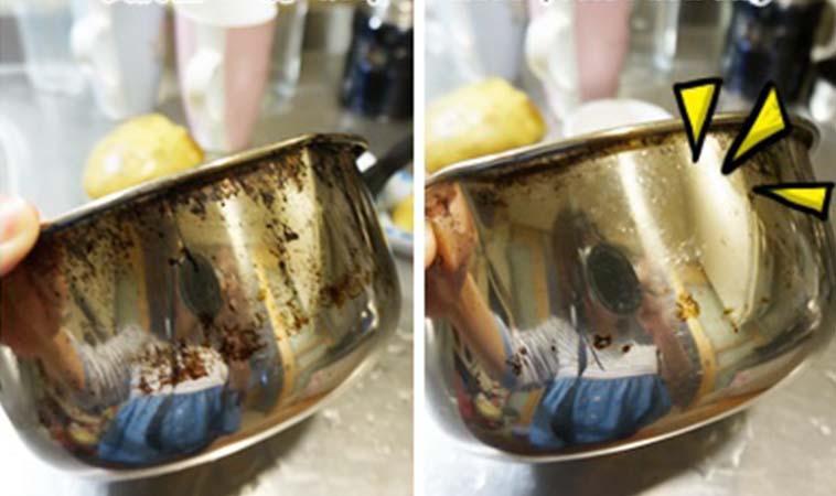 生活小妙招,把燒焦鍋子變乾淨