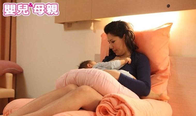 親餵母乳的4種姿勢