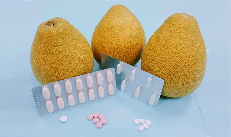 一張表告訴你,吃柚子應該避免這些藥
