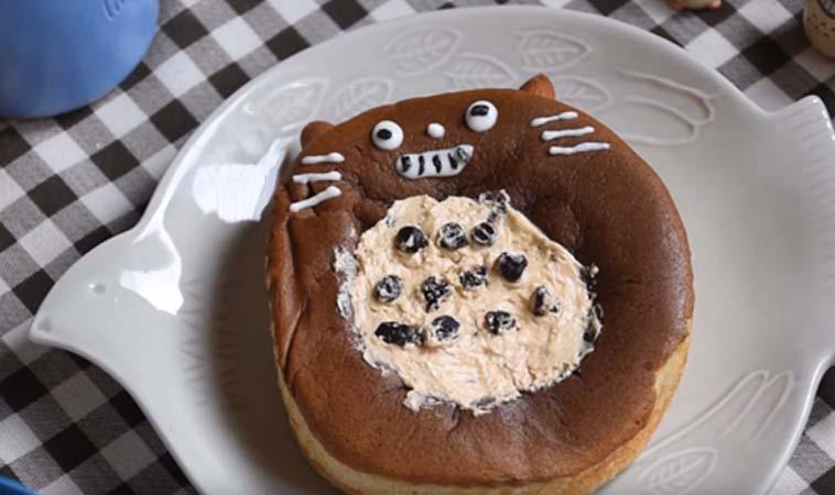豆豆龍~豆豆龍~可愛的龍貓麵包來囉!